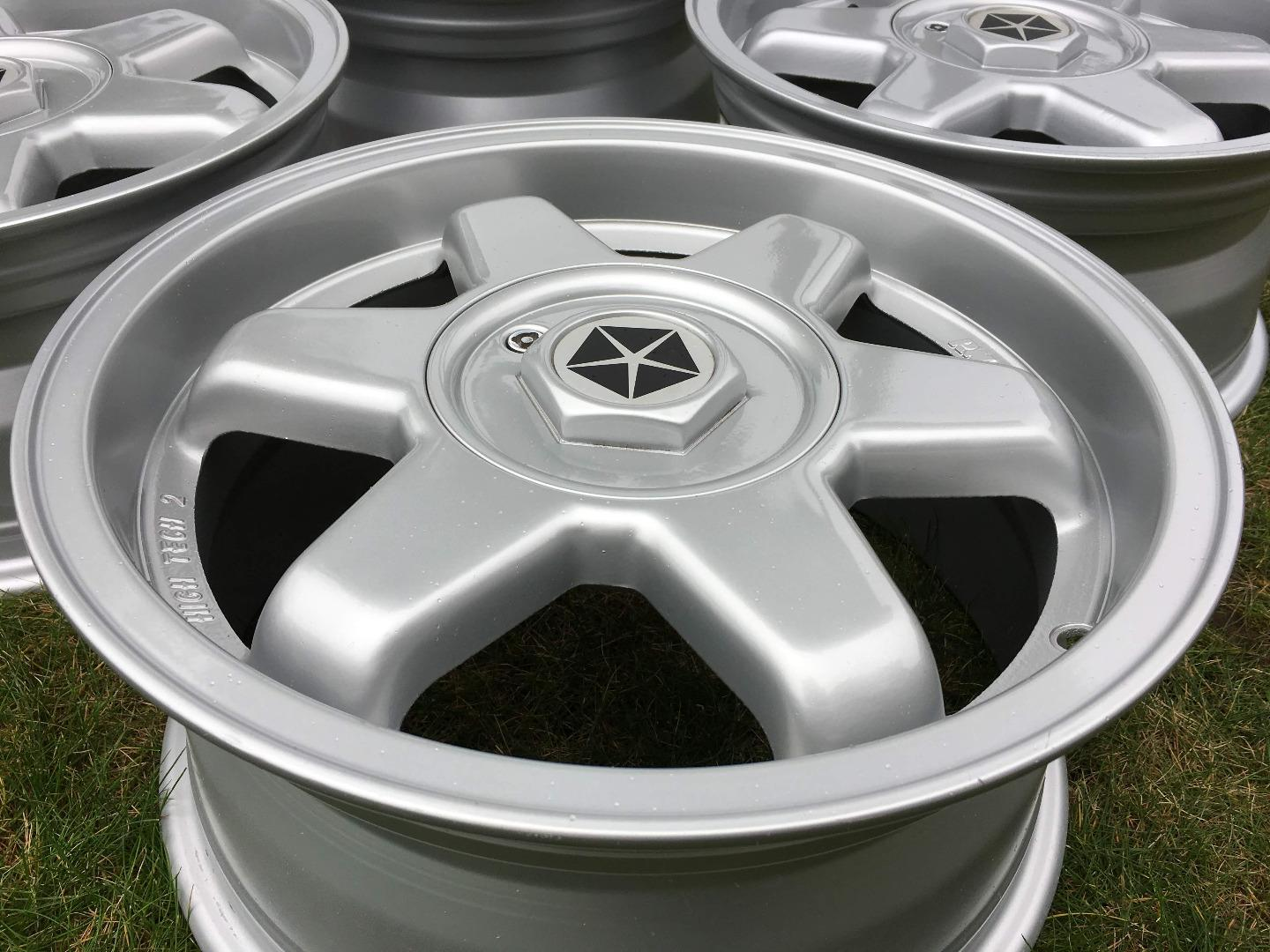 "NIEUW 15"" RW High Tec 2 5X100 VW Golf GTI VR6 Polo"